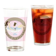 Shelf Pleasure Drinking Glass