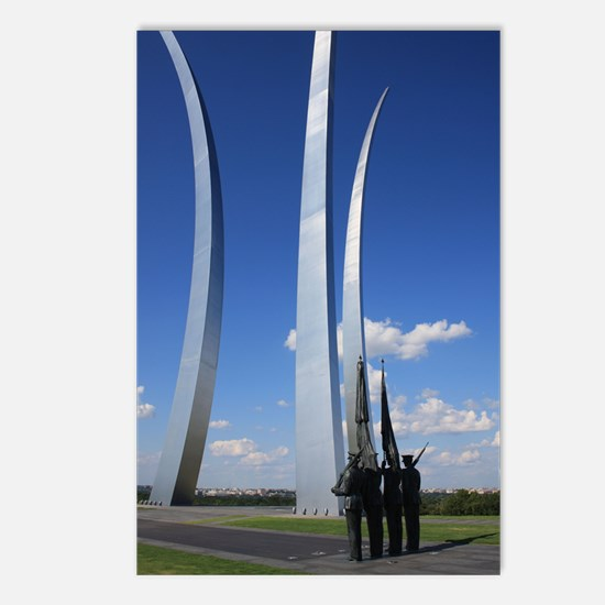 Air Force Memorial Postcards (Package of 8)