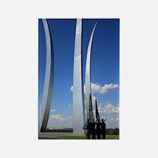 Air Force Memorial Rectangle Magnet