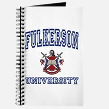FULKERSON University Journal
