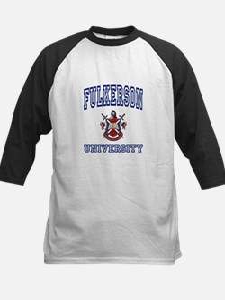 FULKERSON University Kids Baseball Jersey