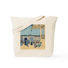 Hokusai Sazai Hall Tote Bag