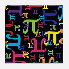 Pieces of Pi Tile Coaster