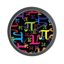Pieces of Pi Wall Clock