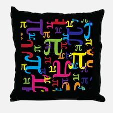 Pieces of Pi Throw Pillow