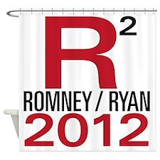 R2 Romney Ryan 2012 Shower Curtain