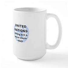 UNITED NATIONS GIVING EVIL A VOICE SINC Mug