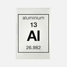 Aluminium Rectangle Magnet