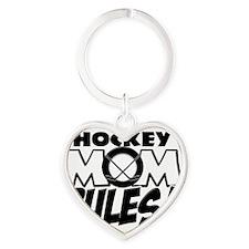 This Hockey Mom Rules copy Heart Keychain