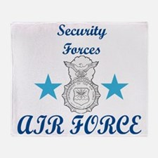 Sec. For. Air Force Throw Blanket