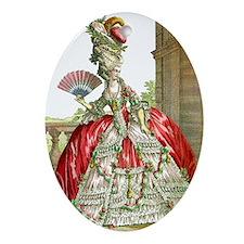 Grande Dame Oval Ornament