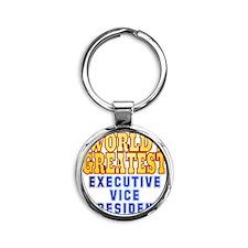World's Greatest Executive Vice Pre Round Keychain