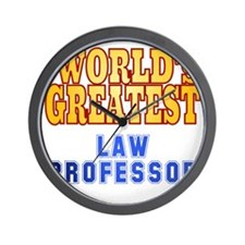World's Greatest Law Professor Wall Clock