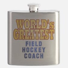 World's Greatest Field Hockey Coach Flask