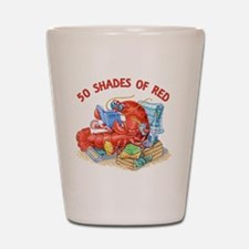 50 Shades of Red Shot Glass