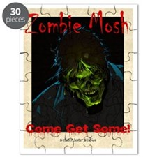 Zombie Mosh front cover Puzzle