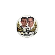 Romney Ryan 2012 Mini Button