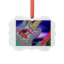 Retro Style Guitar Ornament