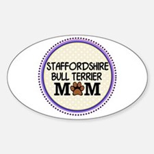 Staffordshire Bull Terrier Mom Decal