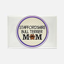 Staffordshire Bull Terrier Mom Magnets