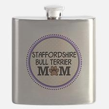 Staffordshire Bull Terrier Mom Flask