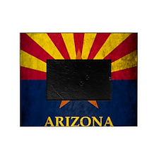 Grunge Arizona Flag Picture Frame