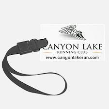 Canyon Lake Running Club Luggage Tag