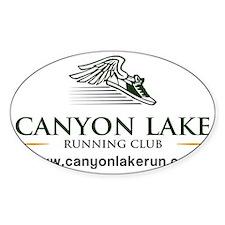 Canyon Lake Running Club Decal