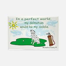 dalmatian Rectangle Magnet