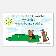 yorkie Postcards (Package of 8)