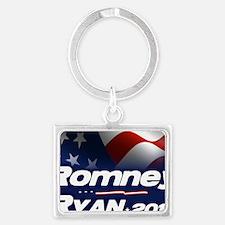 Romney Ryan 2012 Landscape Keychain