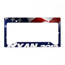 Romney Ryan 2012 License Plate Holder