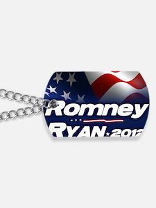 Romney Ryan 2012 Dog Tags