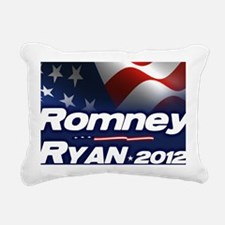 Romney Ryan 2012 Rectangular Canvas Pillow