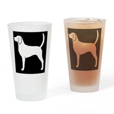 englishfoxhoundhitch Drinking Glass