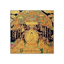 "Buddha Ipression Square Sticker 3"" x 3"""