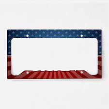 license Stars Stripes Romney  License Plate Holder