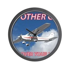 My Other Car- Cessna Wall Clock