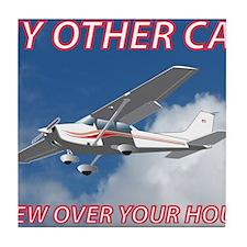 My Other Car- Cessna Tile Coaster