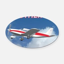 My Other Car- Piper Oval Car Magnet