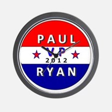 Paul Ryan VP 2012 Wall Clock