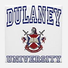 DULANEY University Tile Coaster