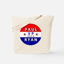 Paul Ryan VP 2012 Tote Bag