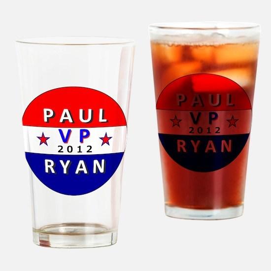 Paul Ryan VP 2012 Drinking Glass