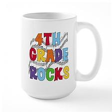 Bright Colors 4th Grade Mug