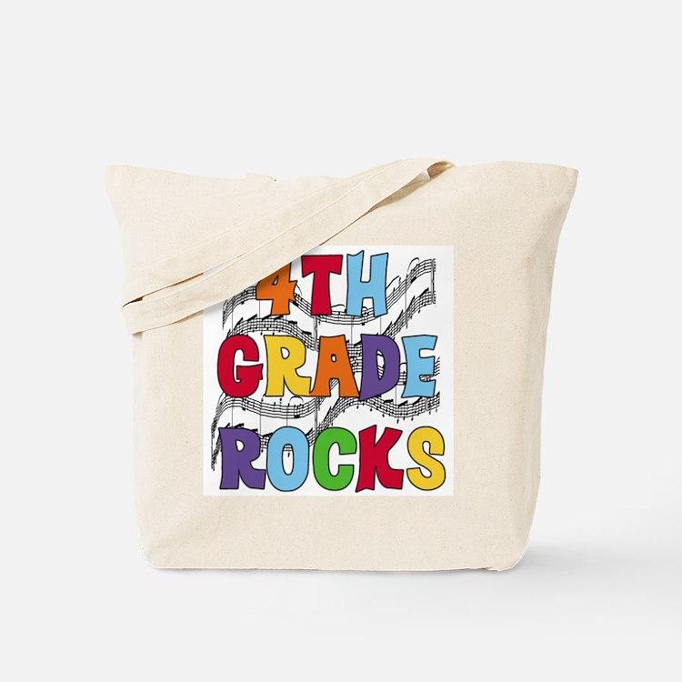 Bright Colors 4th Grade Tote Bag