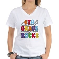 Bright Colors 4th Grade Shirt