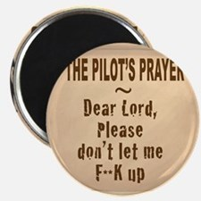 PilotsPrayerFuoLuggHandleWrap Magnet