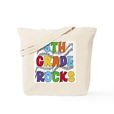 Bright Colors 5th Grade Tote Bag