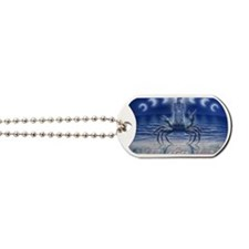cancer_artcard Dog Tags